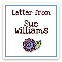Letter from Sue Williams, Founder of MHofH